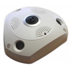 Telecamera IP FishEye Wi-Fi - N360-UFO W NEW