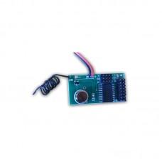 Modulo di trasmissione via radio per accessori cablati - Modulo TX